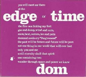 Dom/Edge of time, CD